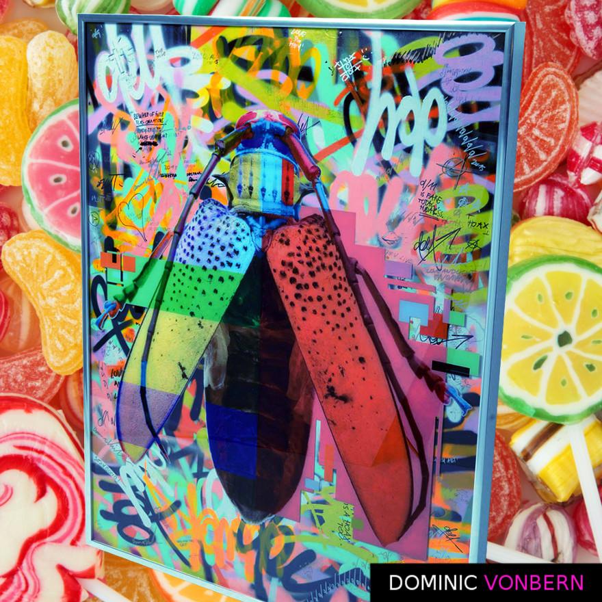 Dominic Vonbern-Swiss Artist-Insect Art Urban Art- Street Art- The hive 12