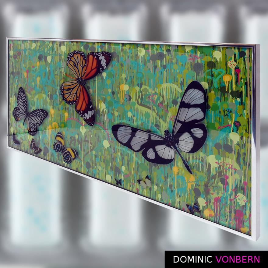 Dominic Vonbern-Swiss Artist-Butterflies - Urban art- Street Art- A Swarm of a few9