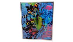 Dominic Vonbern Artwork bug and butterfl