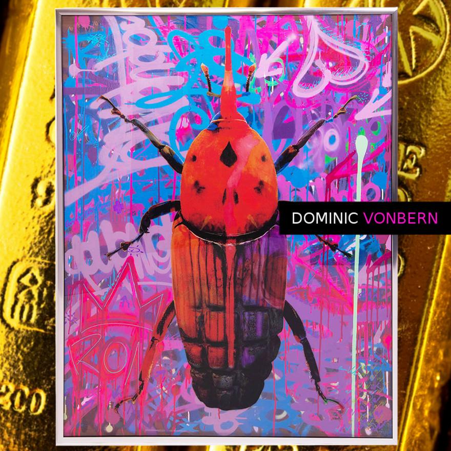 Dominic Vonbern-Swiss Artist-Beetle Art - Bug Art -Insect Art -Street Art-Urban Art-This is art 18