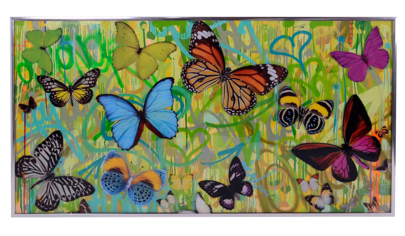Dominic Vonbern Butterflies artwork