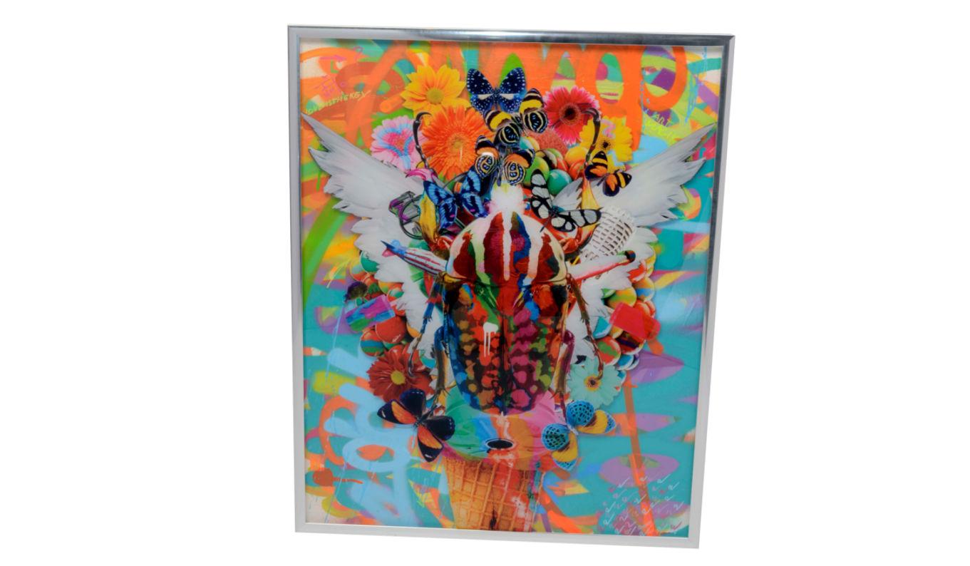 Dominic Vonbern Artwork A joyfull mess