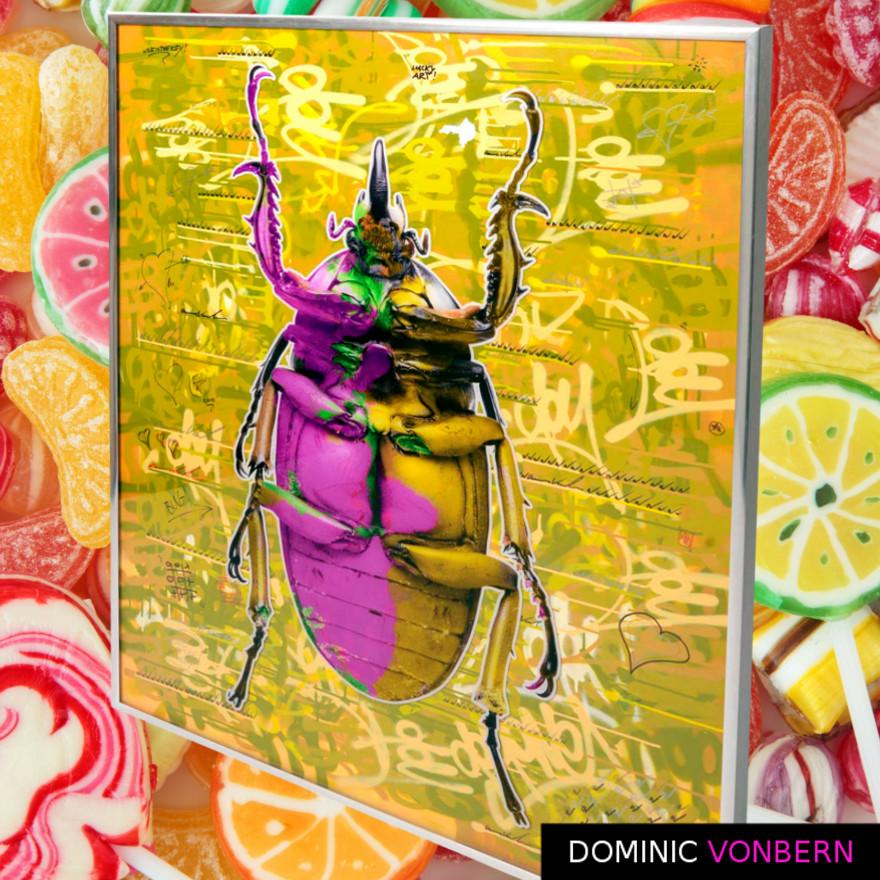 Dominic Vonbern-Swiss Artist-Beetle Art - Bug Art -Insect Art -Street Art-Urban Art- Pop N Bug 12