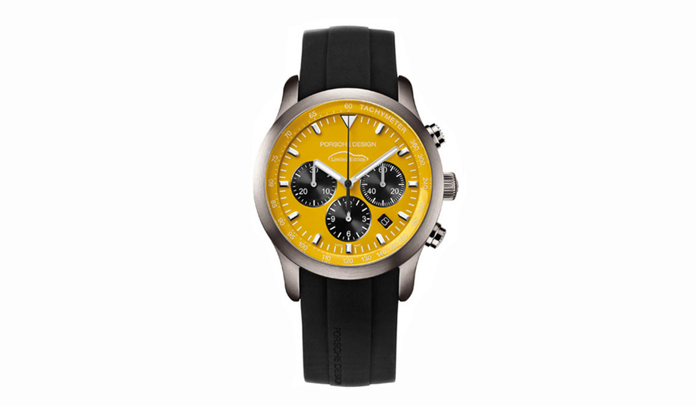 Porsche Design 6612 Limited Edition Dominic Vonbern Swiss artist