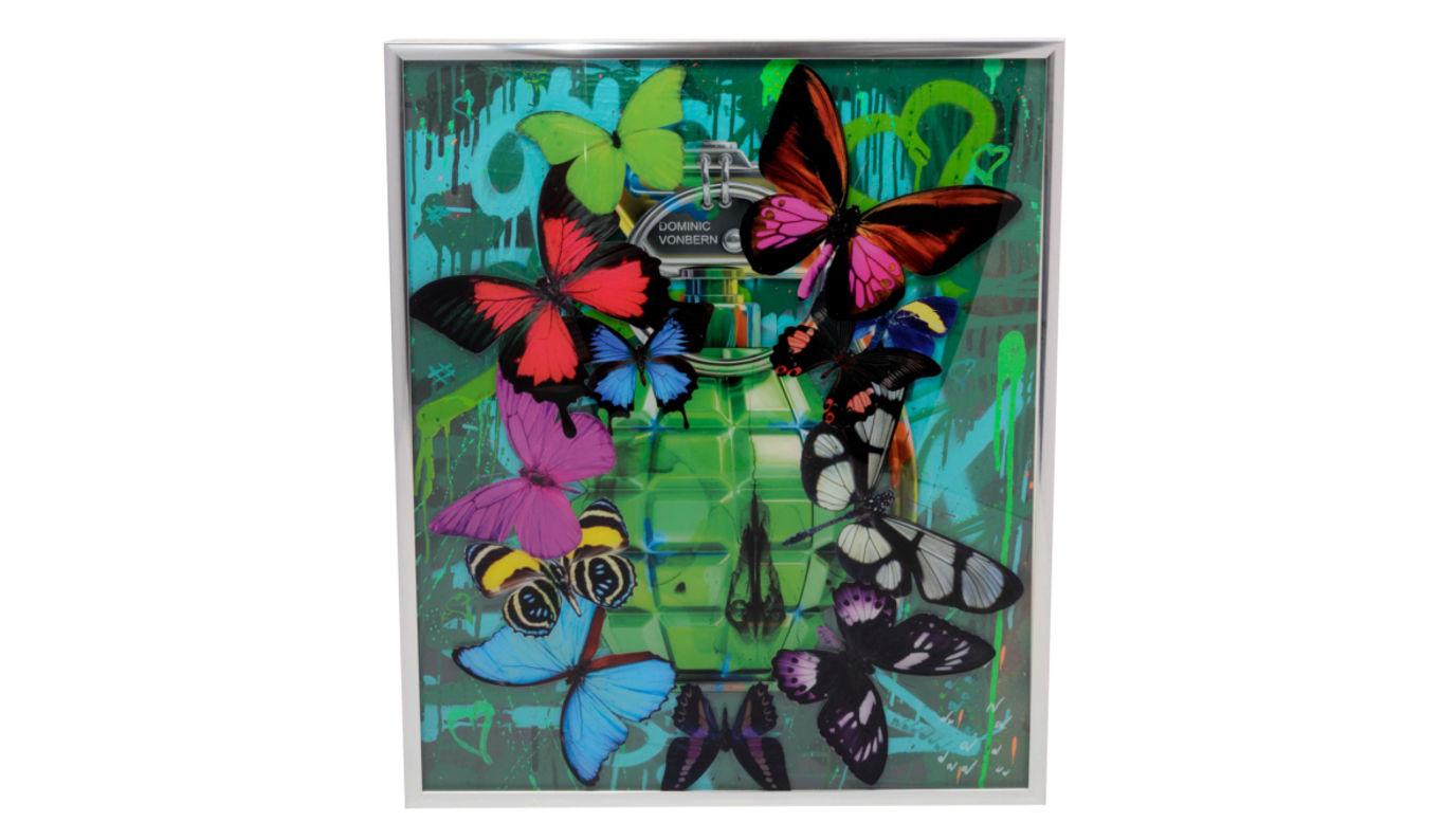 Dominic Vonbern Artwork grenade green 2.