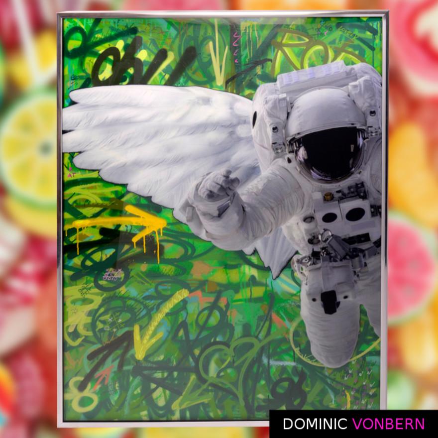 Dominic Vonbern-Swiss Artist-Astronaut Suit-Street Art-Urban Art- Yellow Arrow 11