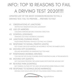 top 10 reasons to fail a driving test driving lessons in perth