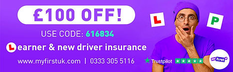 myfirstuk driving lessons insurance for learners with SP Driving School Perth