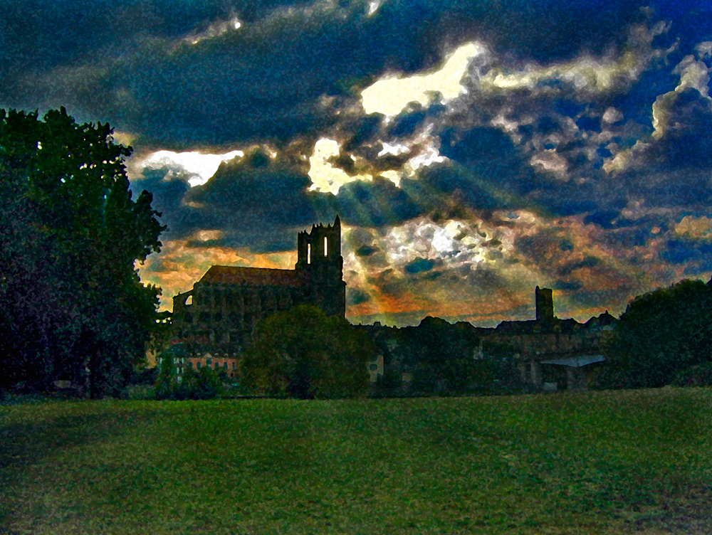 WATERCOLOR_church sunset.jpg