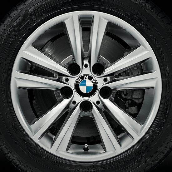 BMW Winterkompletträder V-Speiche 656 reflexsilber 16 Zoll 3er & 4er