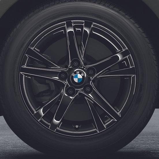 BMW Winterkompletträder Doppelspeiche 473 schwarz 16 Zoll 1er F40 2er F44 RDCi