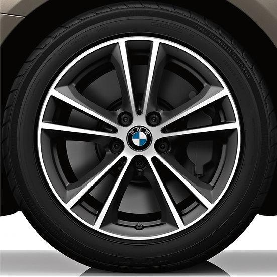 BMW Winterkompletträder V-Speiche Styling 631 bicolor 5er G30 G31 (LCI) RDCi