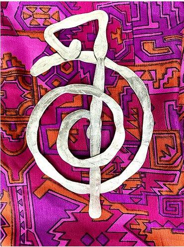 Spiral Scarf Pin