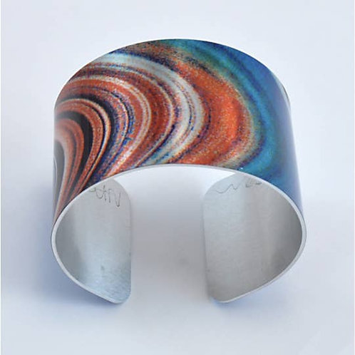 Abstract Cuff Bracelet