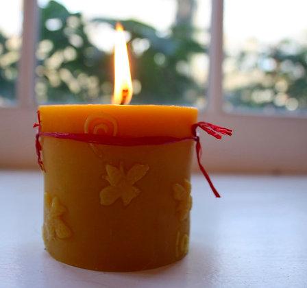Swirl Beehive Candle