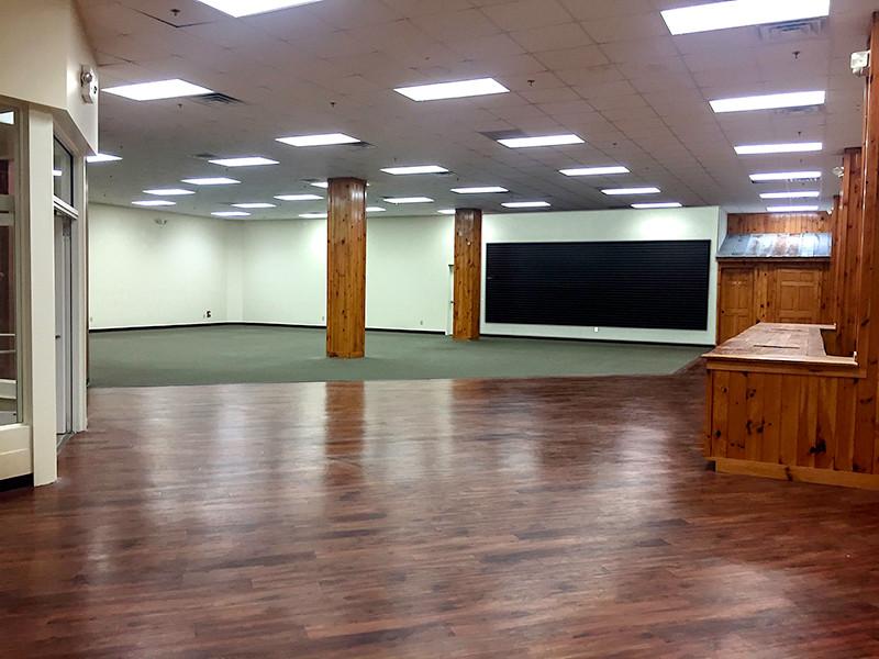 Full Sales Floor