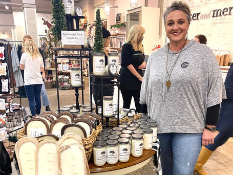 Meet the Maker: The Peaceful Porch Candle Co.