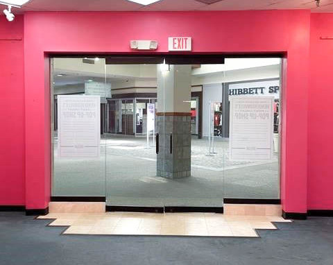 Interior Entrance to Storefront