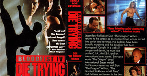 B-Movies of our Youth: Bloodfist IV: Die Trying (1992)