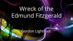 Well Written Rock Songs: Wreck of the Edmund Fitzgerald (Gordon Lightfoot)