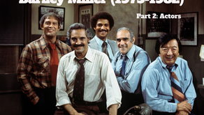 Retro T.V. Reviews: Barney Miller (1975) (Part 2 - Actors)