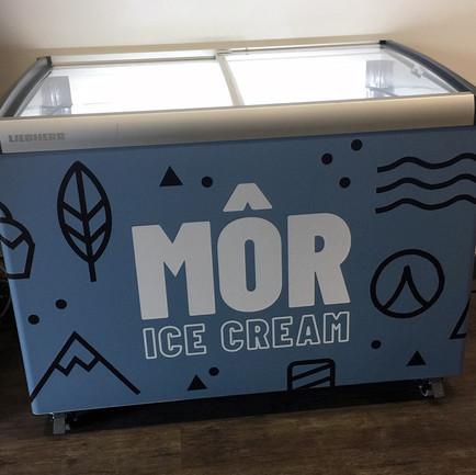 Ice cream freezer wrap