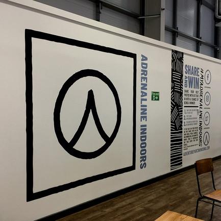 Wall branding