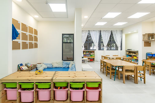 kindergarten renovation givat shmuel israel
