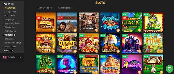 Crypto Slots Winz IO Casino