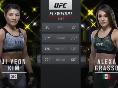 Watch the Full Free Fight between Alexa Grasso and Ji Yeon Kim at UFC Fight Night 178