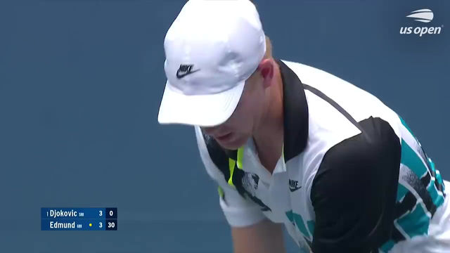 Tennis US Open 2020 Round 2 - Novak Djokovic vs. Kyle Edmund Full Match