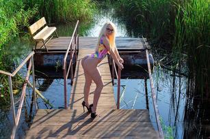 Beauty Anne: Camgirl biondina