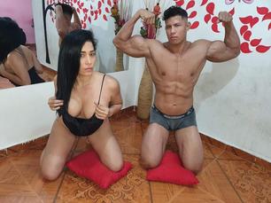 Coppie Esibizioniste: Sexy_Striper_Couple