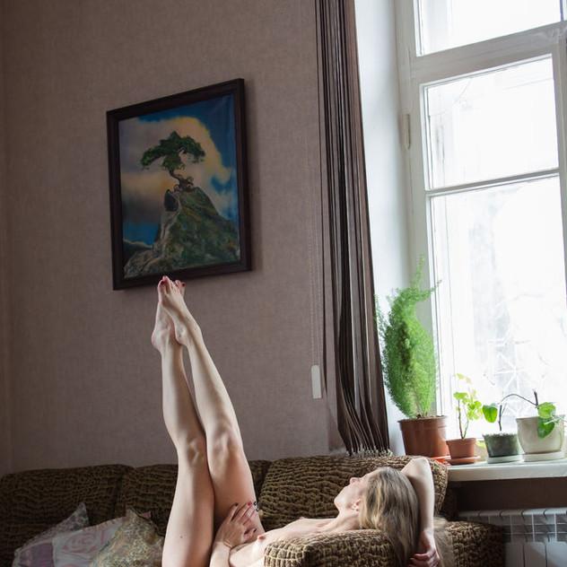 Modella Nuda Met Art: Mika A.