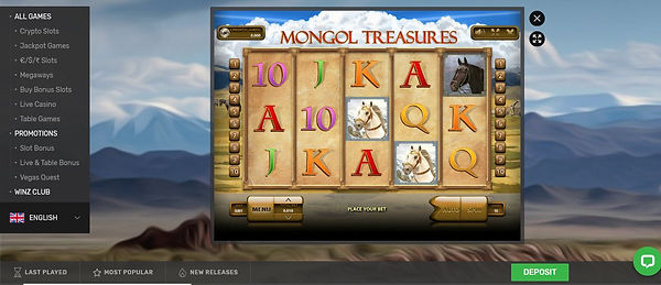 Mongol Treasures Winz IO