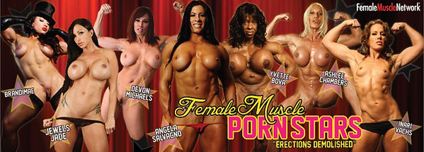 female muscle pornstars