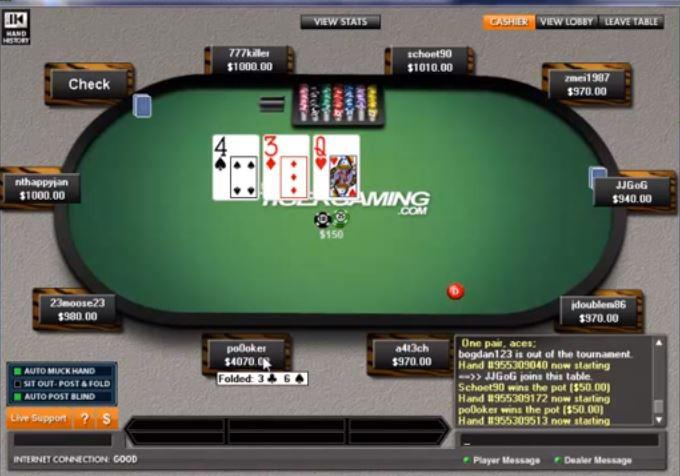 TigerGaming Live Online Poker Room