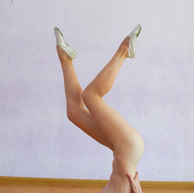 Anna Mostik, figa nuda e bella sportiva diciottenne