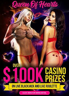 Sexy Live Dealers Casino Bonus