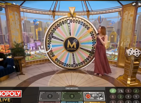 Monopoly Live from Evolution Gaming: A Stunning Casino Game Modelled on the Monopoly Board Game