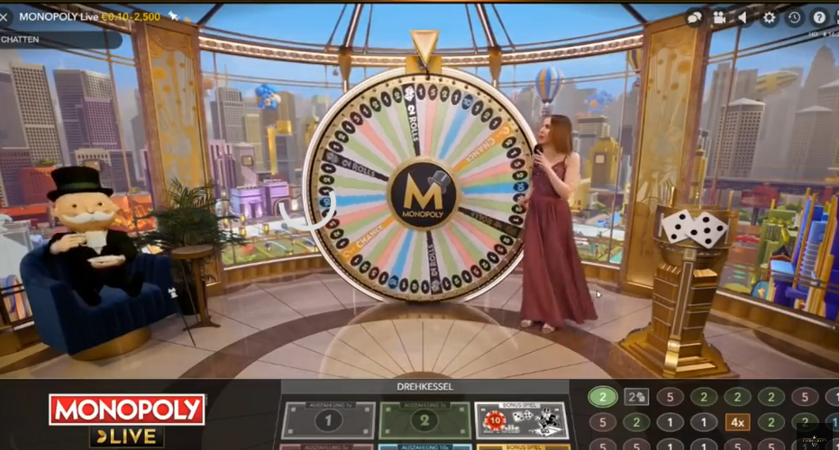 BadCoGaming.com, Money Wheel, Live Monopoly, Live Monopoly Review