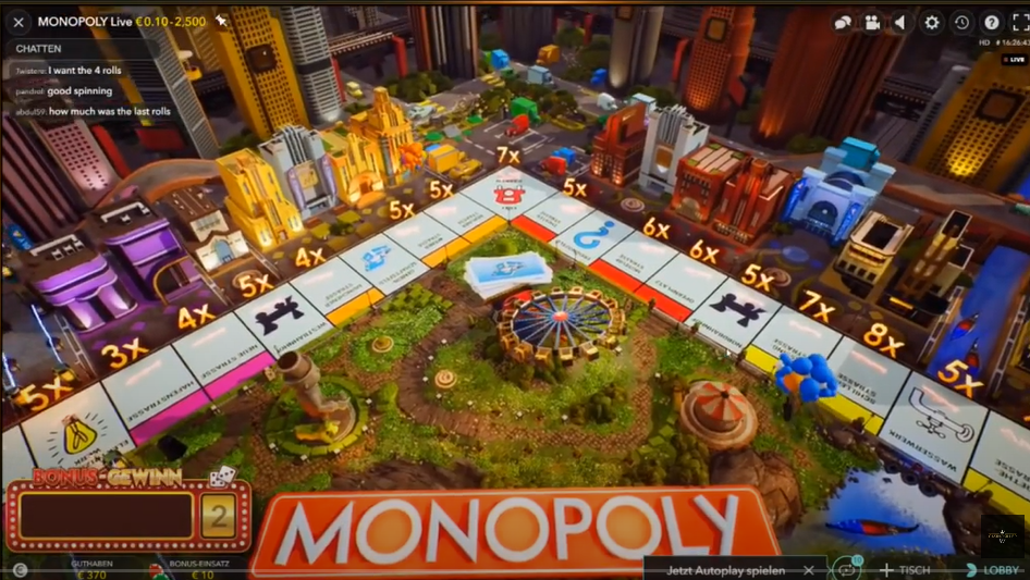 Live Monopoly, Mr. Monopoly Casino, BadCoGaming.com, 3D Augmented Reality Casino Game, Monopoly Gambling