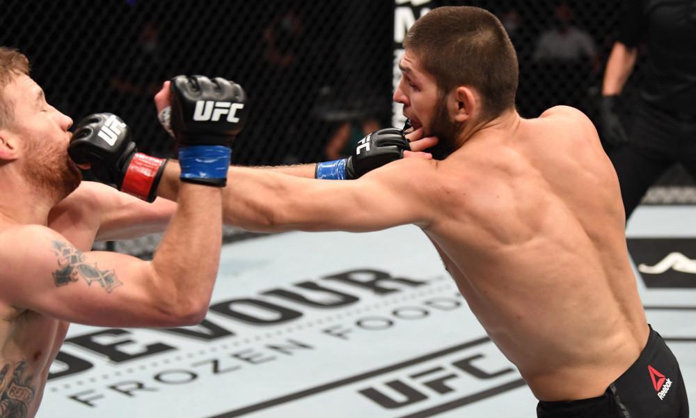 Khabib Nurmagomedov vs. Justin Gaethje MMA Fight, UFC 254 Fight Night, BadCoGaming.com, MMA Lightweight division