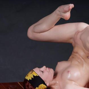 Jaroslava, ginnasta sexy diciottenne