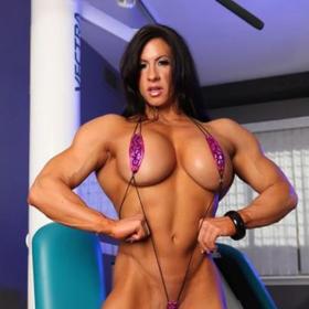 Muskeln nackt frauen Nackt Frau