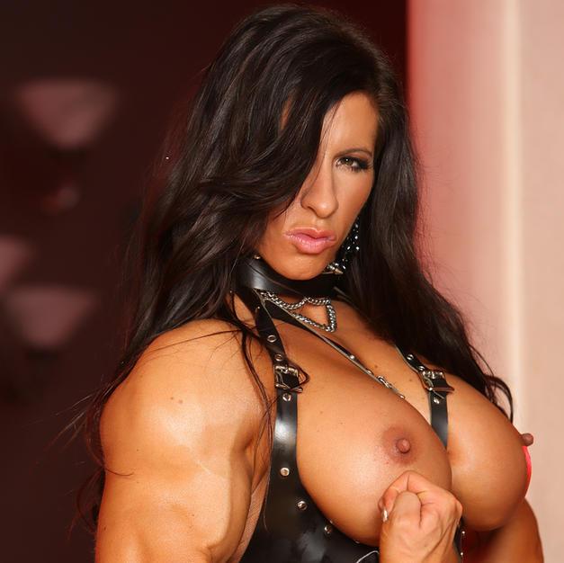 Angela Salvagno, pornostar bodybuilder