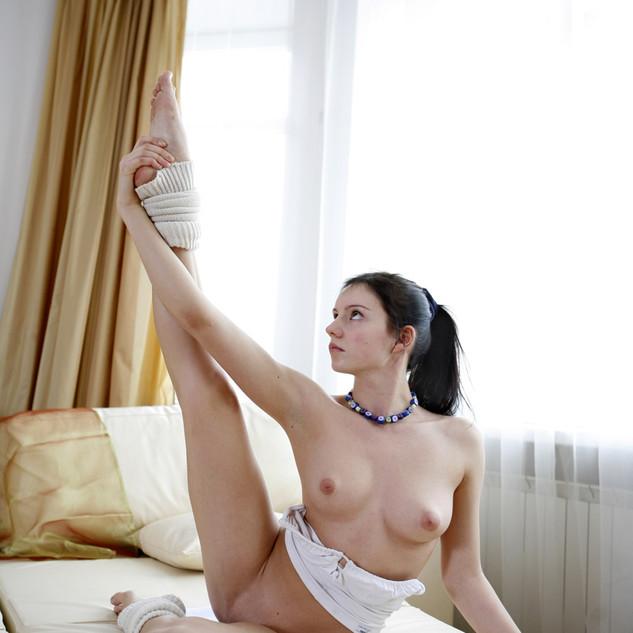 Polina Kabaeva, una ginnasta nuda e sexy