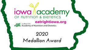 2020 Medallion Award