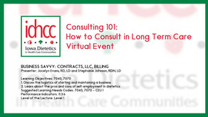 Consulting 101: Business Savvy: Contracts, LLC, Billing