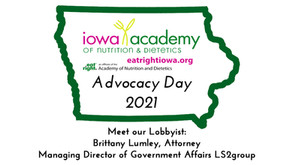 2021 Advocacy Day - Meet our Lobbyist
